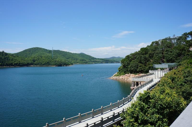 夏日赴宁波二日游之二----宁波九龙湖景区;九龙源