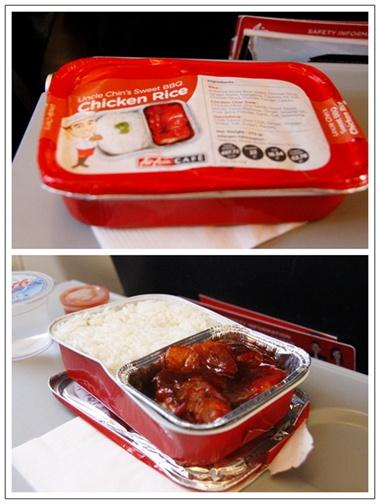 亚航飞机餐,马币12元,预订机票时提前购买.女儿说好吃.