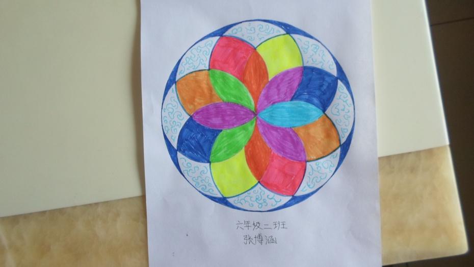 """这两个星期,我们学习了""""圆""""和用圆规怎样来画圆."""