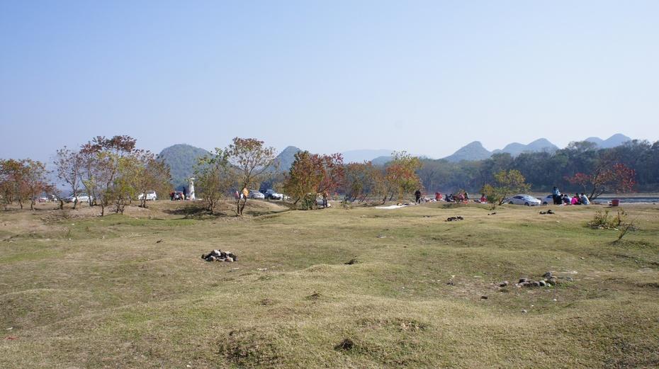 桂林漓江乌桕滩多彩秋色 - 余昌国 - 我的博客