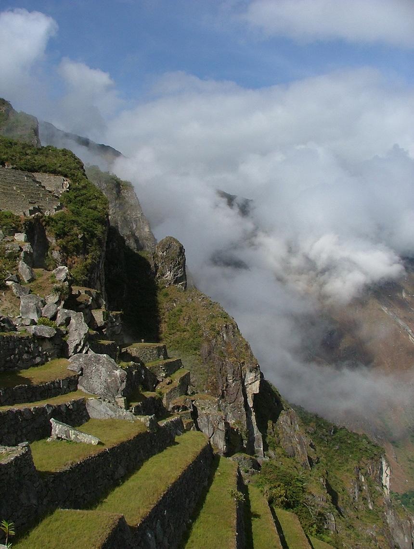 晨雾笼罩下的秘鲁-马丘比丘古城遗址美景 - sihaiyunyou - sihaiyunyou的博客