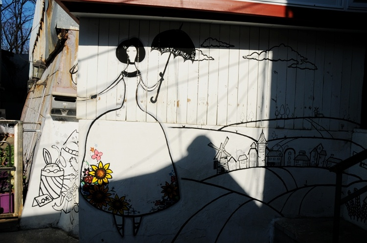 韩国行之十九—令人惊艳的韩国首尔壁画村(下) - 余昌国 - 我的博客