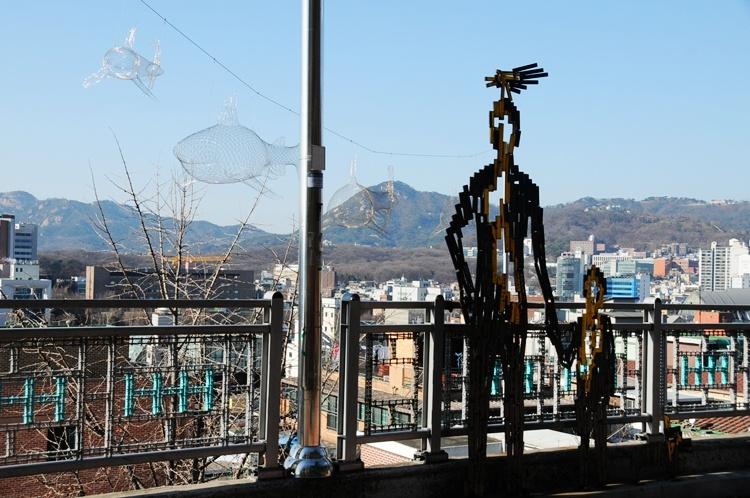 韩国行之十九—令人惊艳的韩国首尔壁画村(上) - 余昌国 - 我的博客