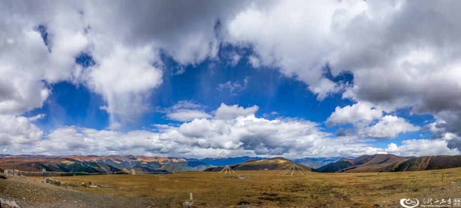 行摄318国道四川段 陶醉蓝天白云间 - H哥 - H哥的博客