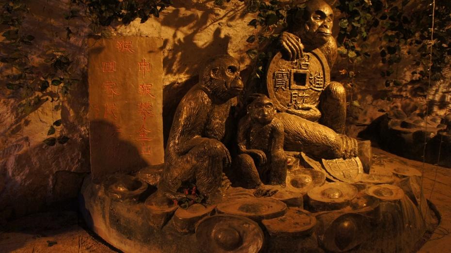 走进桂林西山石窟 - 余昌国 - 我的博客
