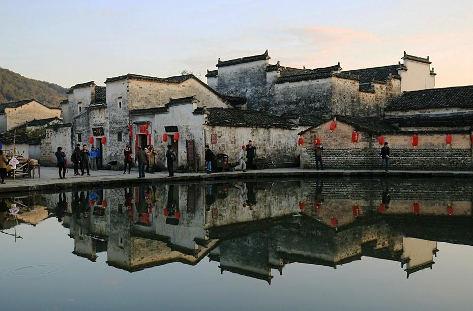 中国画里的乡村:安徽宏村 - 余昌国 - 我的博客
