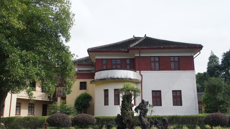 """桂林的""""总统府"""":李宗仁官邸 - 余昌国 - 我的博客"""