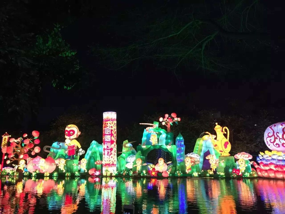 元宵之夜 神州大地彩灯飘 - 余昌国 - 我的博客
