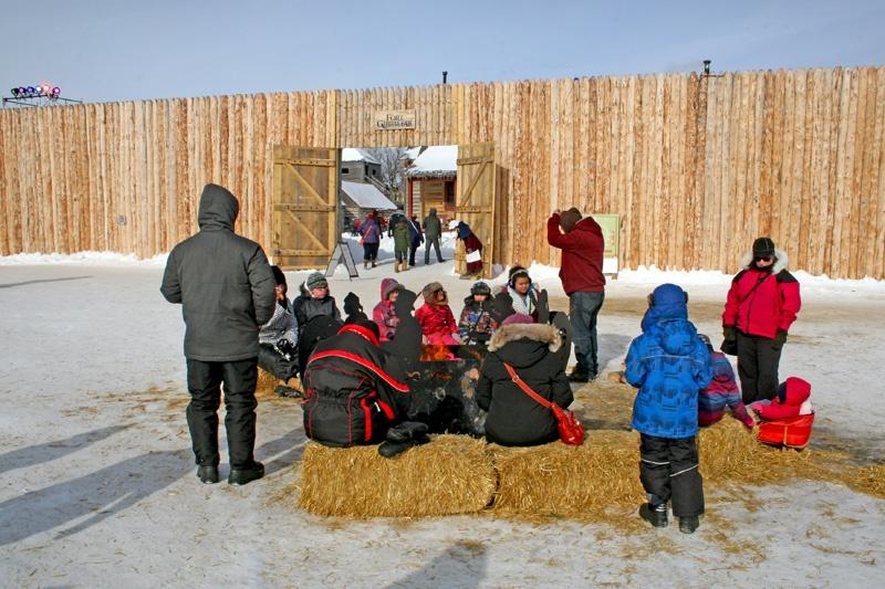 参观法裔加拿大人在早期移民居留地举办的法兰西节 - sihaiyunyou - sihaiyunyou的博客