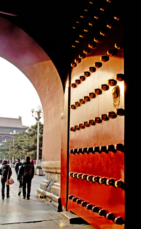 天安门上看北京,中山公园赏金鱼 - 侠义客 - 伊大成 的博客