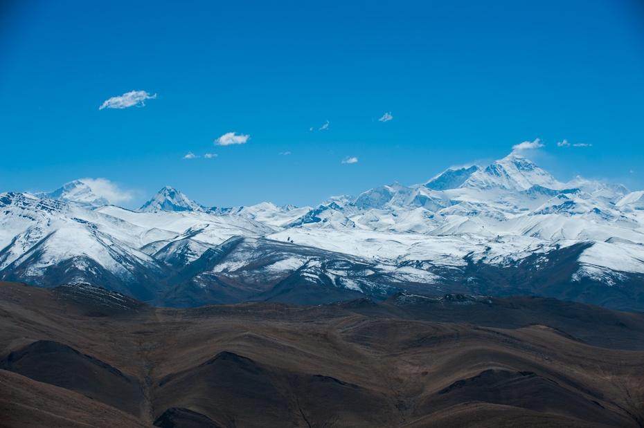 大美西藏:加乌拉山口远眺喜马拉雅群峰 - 长城雄风 ( 2 ) 博客 - 长城雄风『2』博客