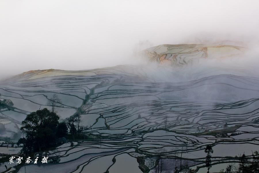 元阳梯田:神奇的土地,艺术的画卷 - H哥 - H哥的博客