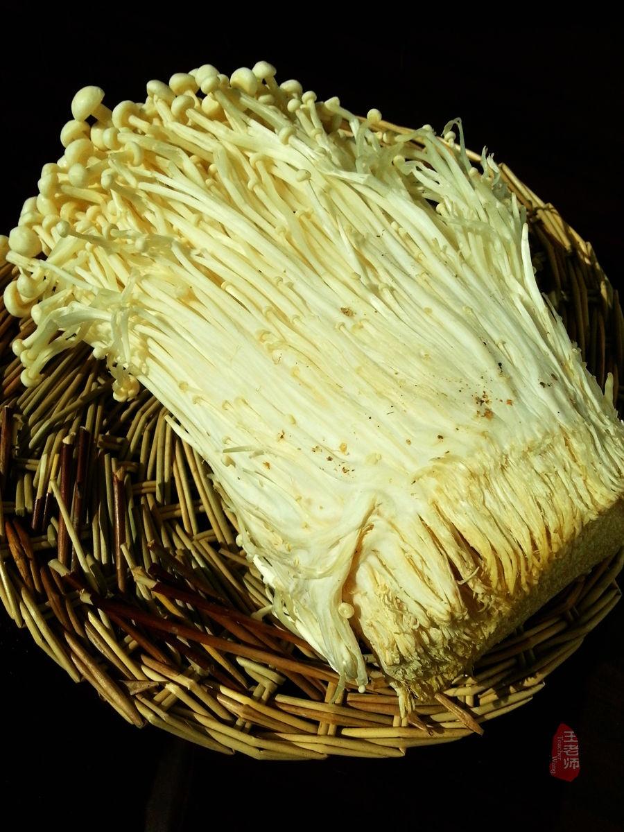 DIY美食----蒜蓉粉丝蒸金针菇 - 慢美食 - 慢   美   食