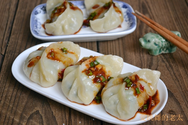 皮薄馅多的--烫面芹菜蒸饺 - 慢美食 - 慢美食