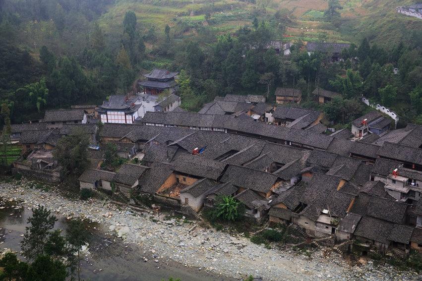 川陕边境的青木川古镇 - H哥 - H哥的博客