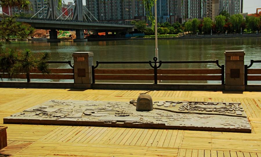 夏日重游游大运河,柳翠天蓝泛清波 - 侠义客 - 伊大成 的博客
