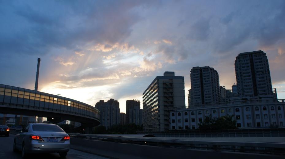 北京晚霞惹人醉 - 余昌国 - 我的博客