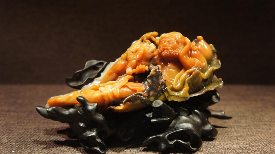 难得一见的精美寿山石雕 - 余昌国 - 我的博客