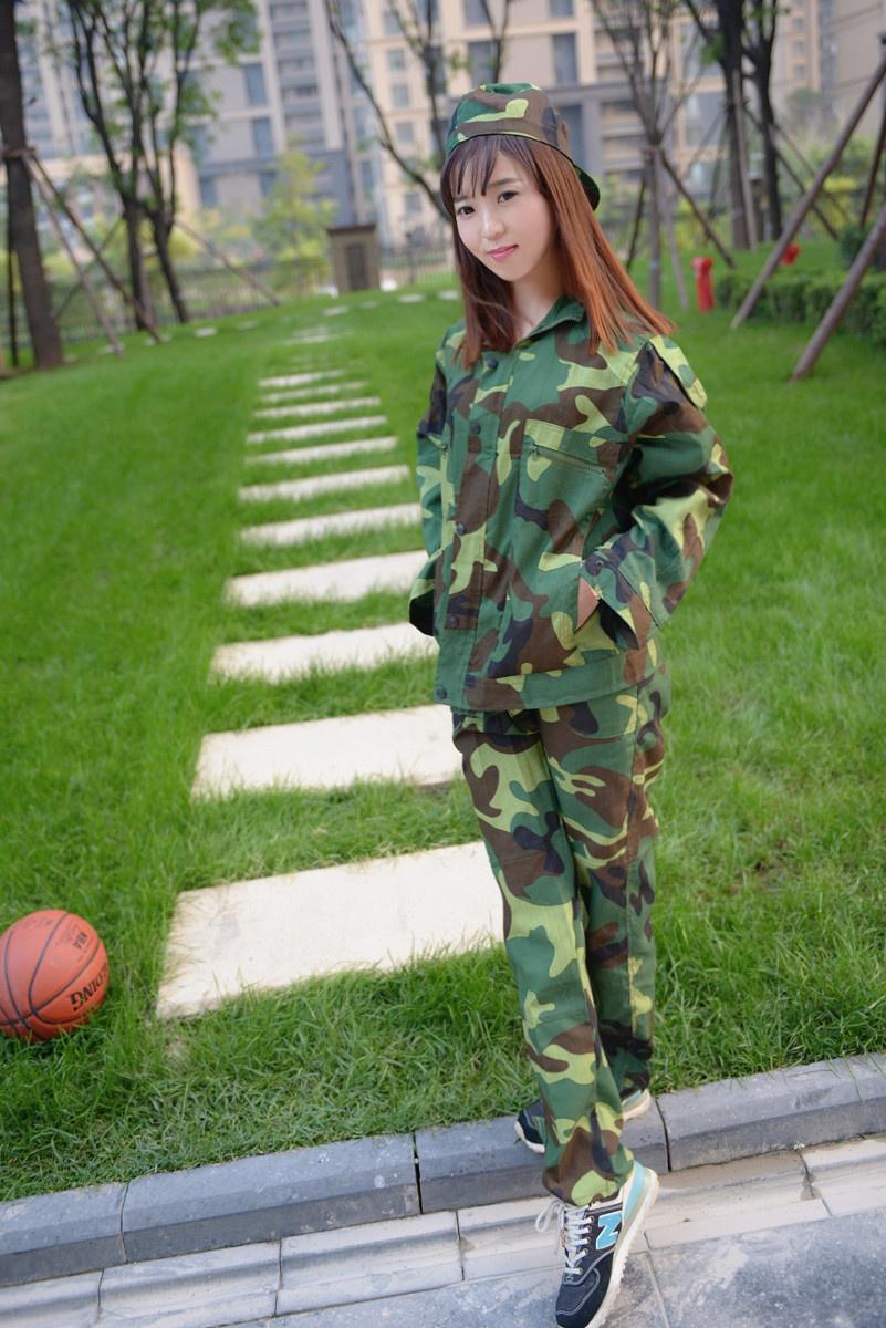 【小一】那些年我们一起穿过的军训迷彩服减龄搭 - 小一 - 袁一诺vivian