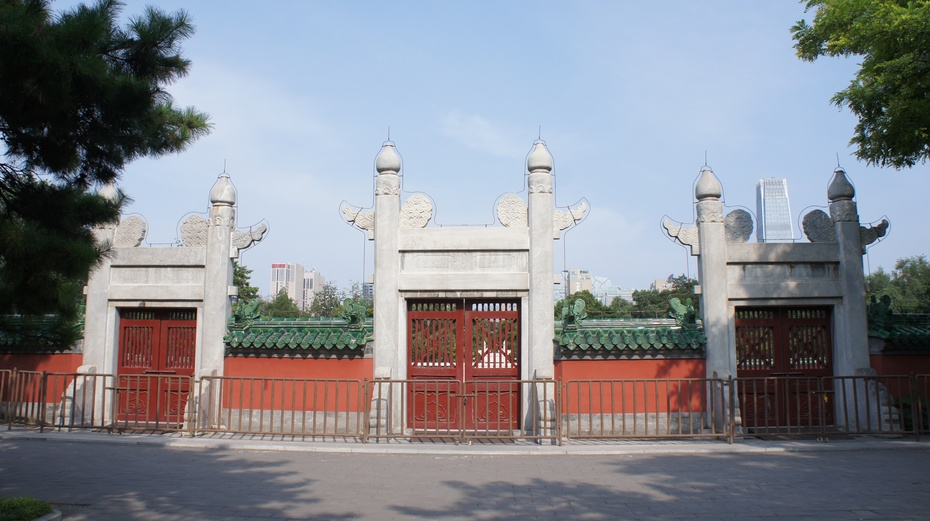 走进北京日坛公园 - 余昌国 - 我的博客