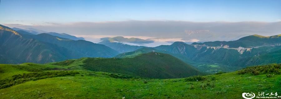 八月的黄龙 景色如画般迷人 - H哥 - H哥的博客