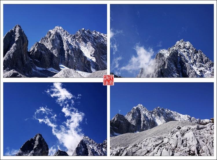 玉龙雪山海拔高度_丽江之旅:依旧美丽的玉龙雪山之约-民来海往-搜狐博客