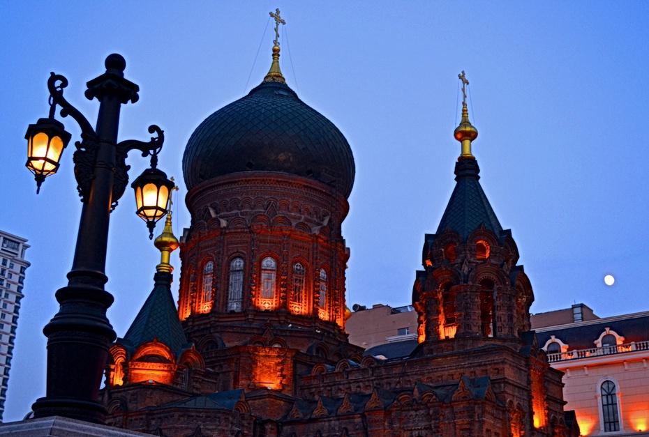 哈尔滨的夜色·一路向北(二) - zq8523 - 852农场3分场(20团3营)知青网