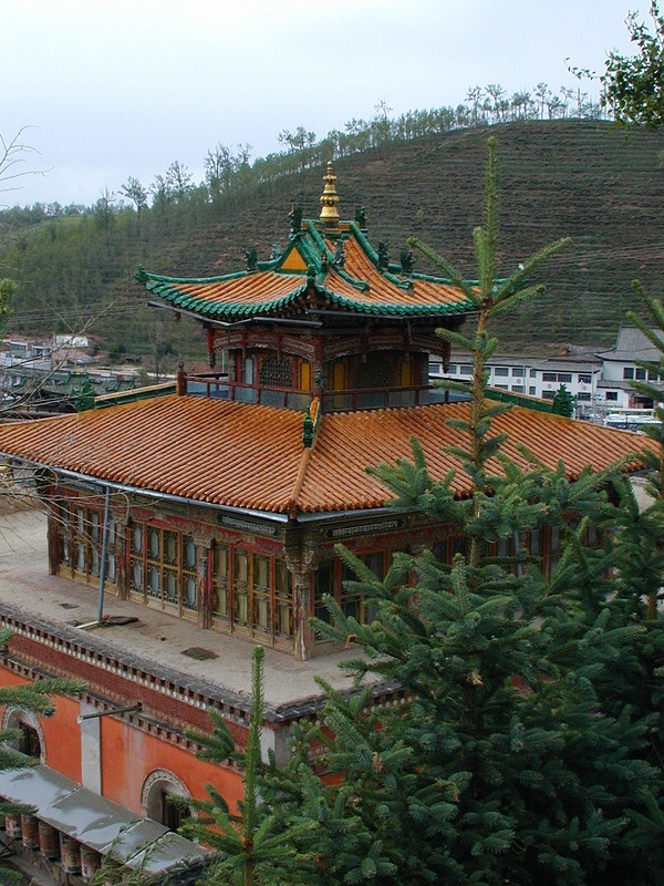 塔尔寺的班禅行宫
