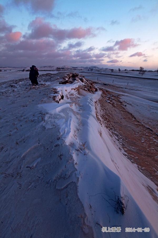 到乌兰布统坝上草原拍雪景 - H哥 - H哥的博客