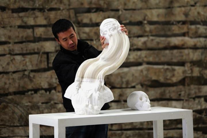 充满创意的纸雕塑 - 余昌国 - 我的博客