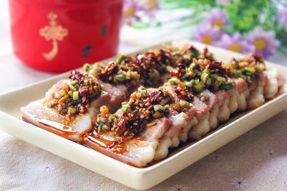 【美食春晚】【清爽年夜菜】爽口五花肉 - 慢生活美食客 - 慢生活美食客