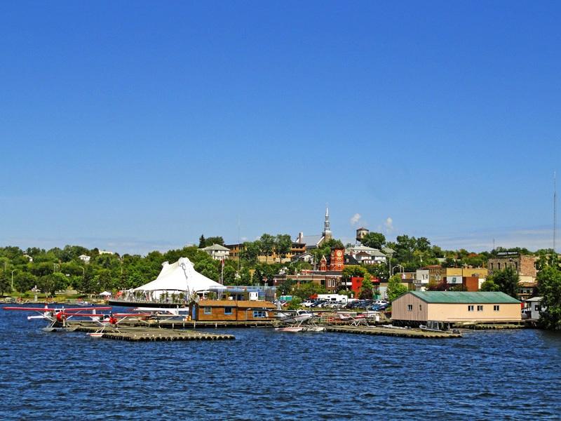 加拿大凯偌拉市(Kenora)-美加明星和大款钟爱的避暑圣地 - sihaiyunyou - sihaiyunyou的博客