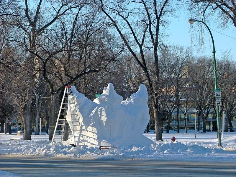 寒冬加拿大最冷的城市-曼省的温尼伯市(winnipeg),多彩的户外活动 - sihaiyunyou - sihaiyunyou的博客