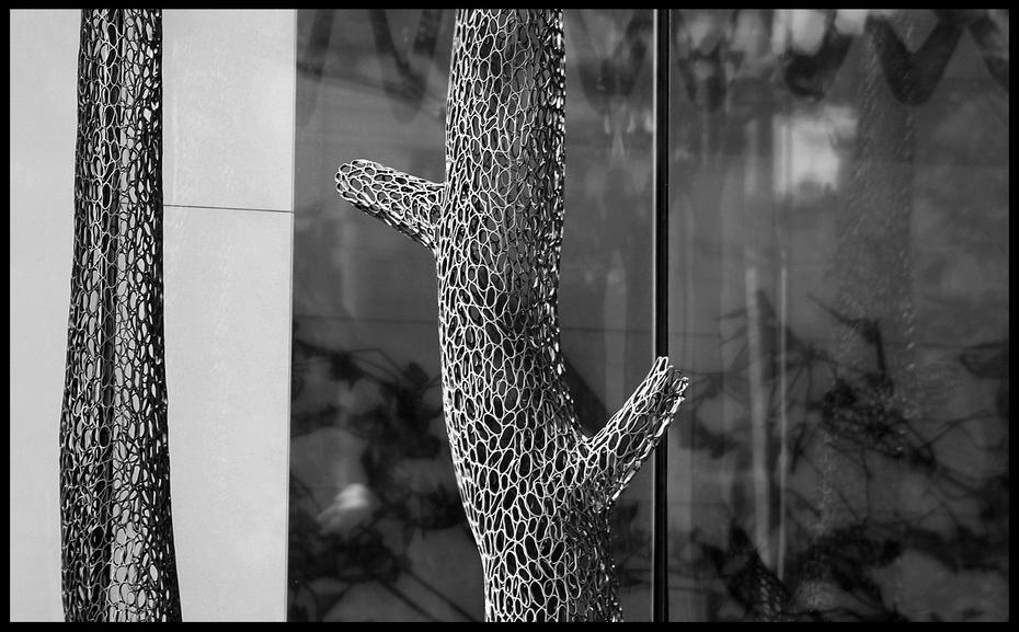 解构主义动物雕塑