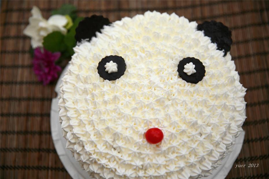 熊熊生日蛋糕