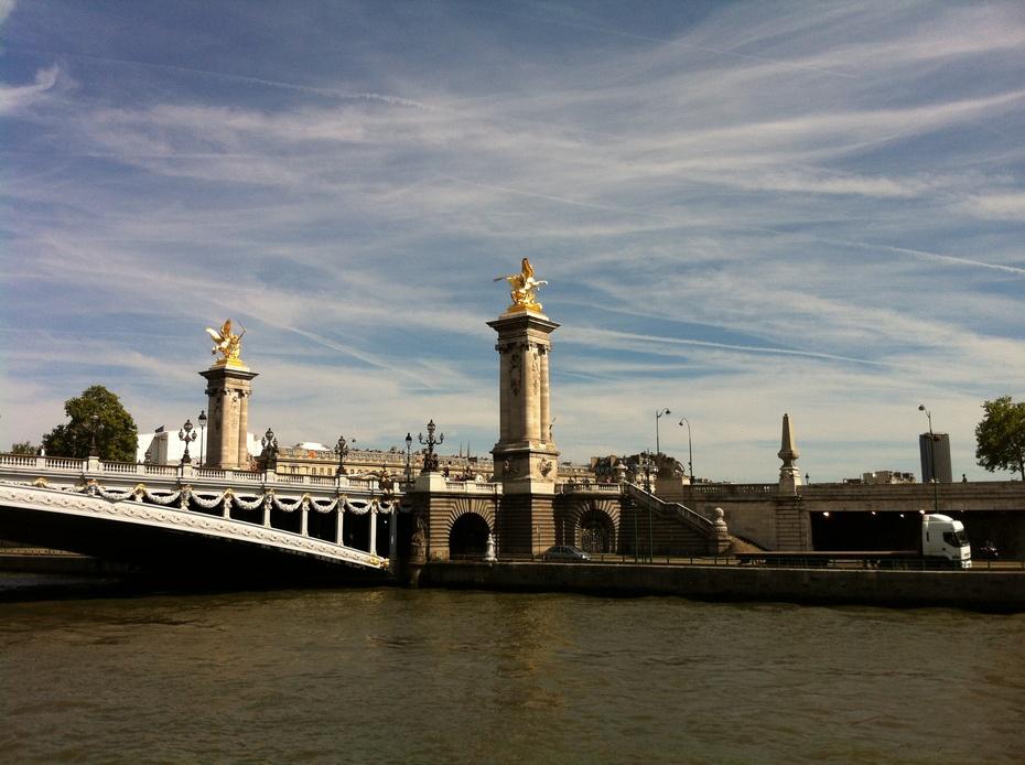 欧洲行10:塞纳河上看巴黎 - 余昌国 - 我的博客