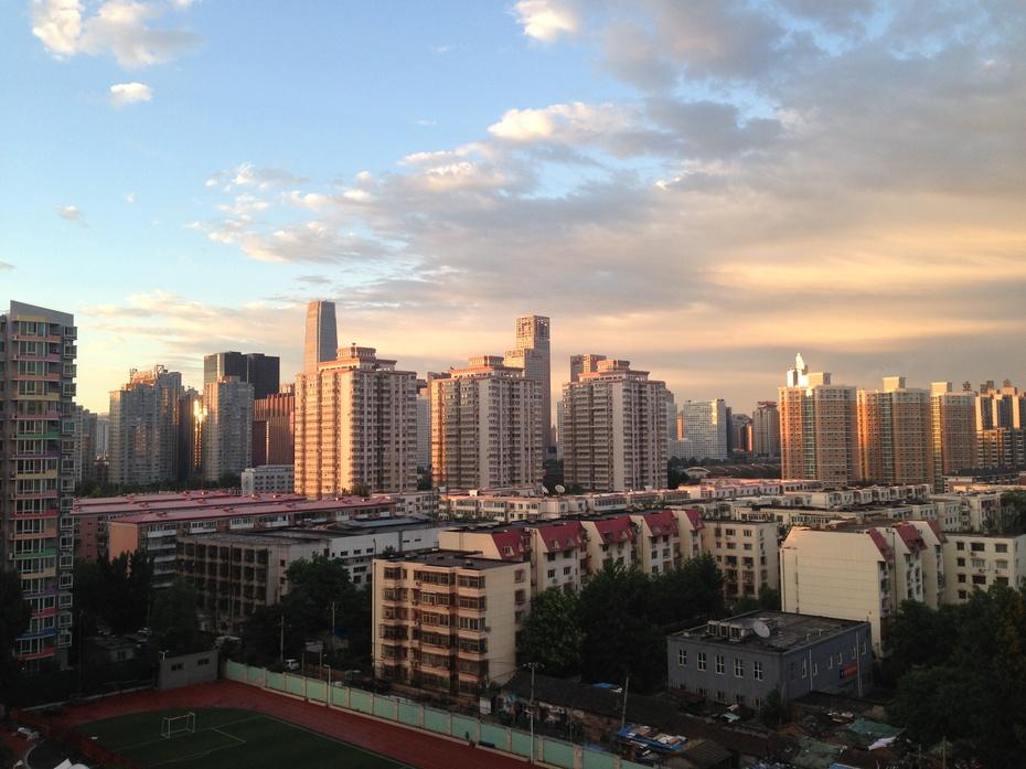 绚烂多姿的北京晚霞 - 余昌国 - 我的博客