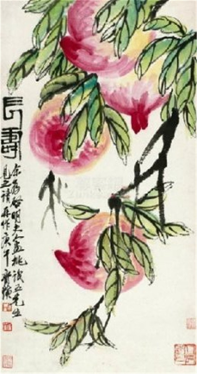 【国画】齐白石绘画作品鉴赏(一)