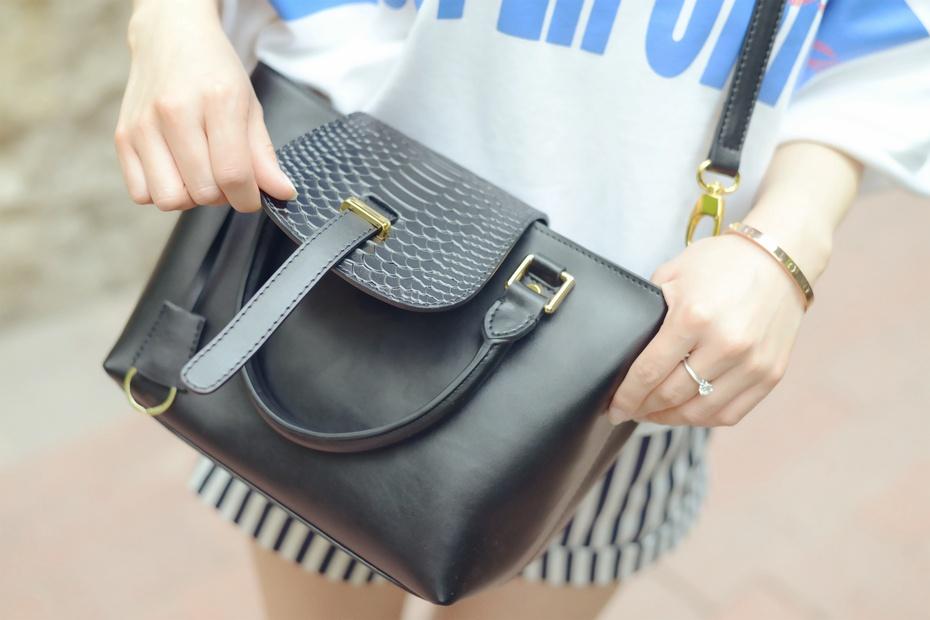 【袁一诺vivian】一款黑包也可以让你变清新 - 小一 - 袁一诺vivian