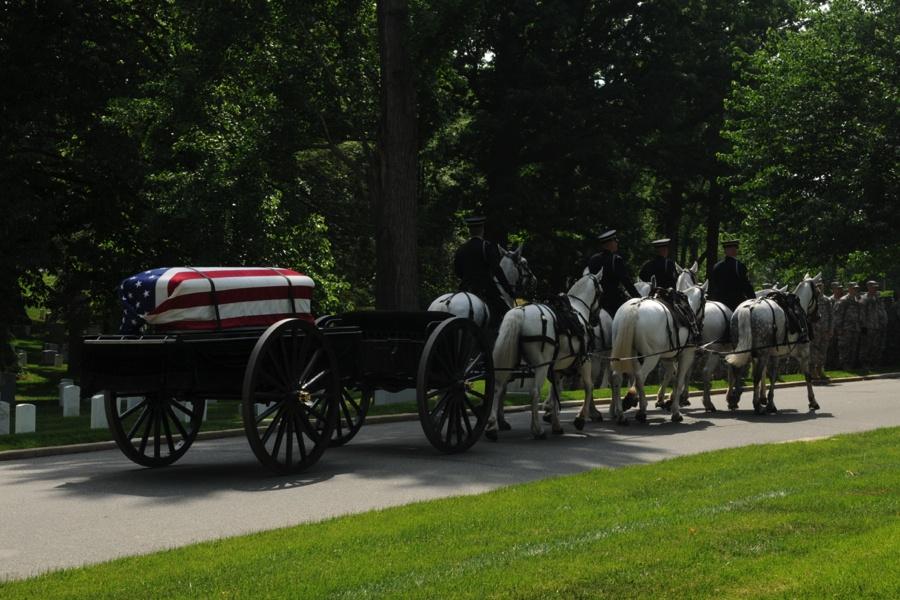 实录阿灵顿:亡兵纪念日的美国插旗仪式 - 心路独舞 - 心路独舞