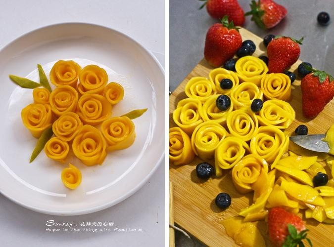 献给母亲节—绽放的黄玫瑰夏露蕾特 - 慢美食 - 慢 美 食