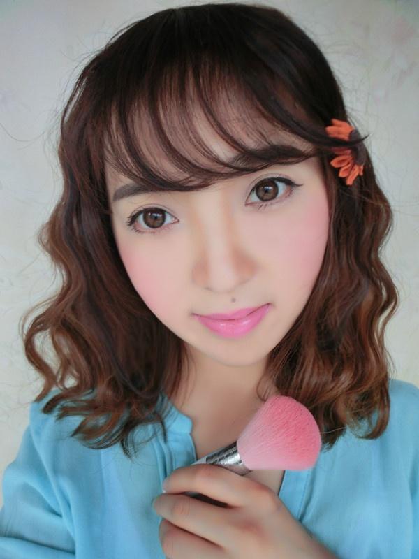 【小一】超简易的韩式甜美妆容,夏天我来啦!! - 小一 - 袁一诺vivian
