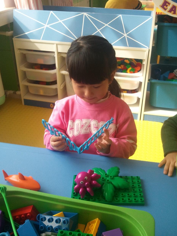 幼儿园的小手工_宝宝树