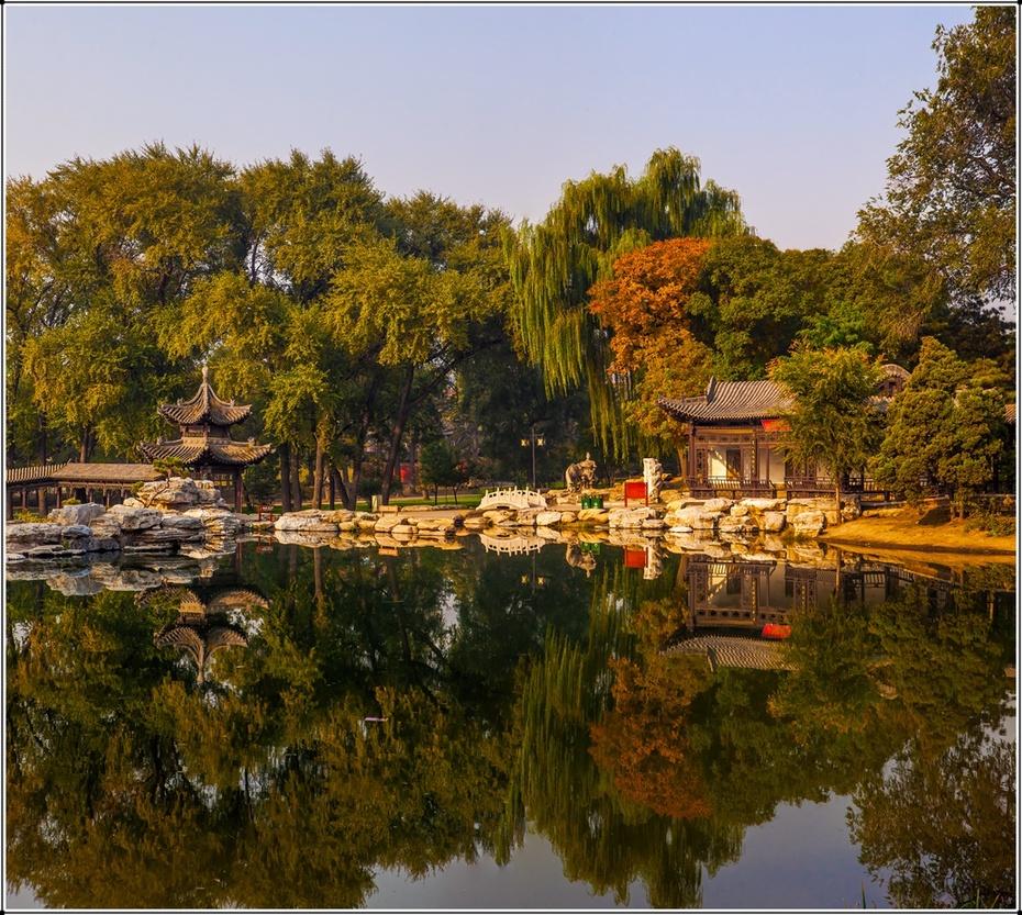 山西行纪—晋祠印象:唯美的晋祠公园 - H哥 - H哥的博客