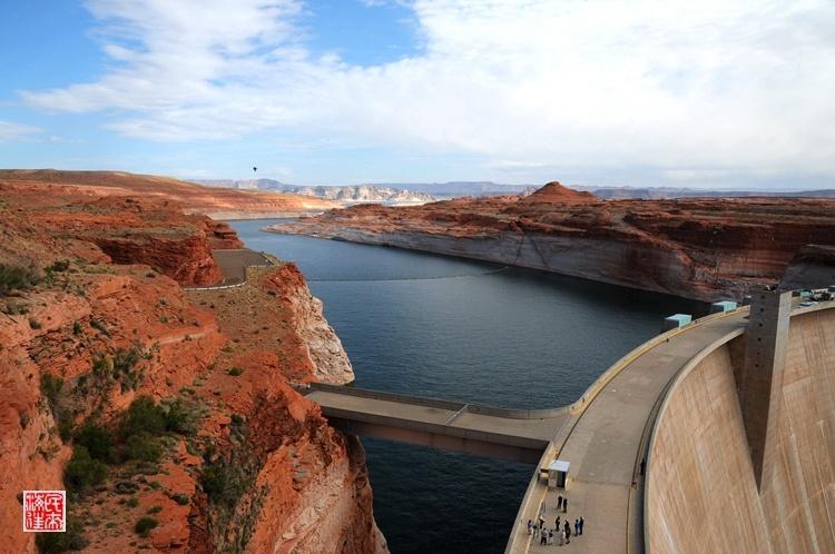 美国散记:雄奇格兰水坝和包伟湖 - H哥 - H哥的博客