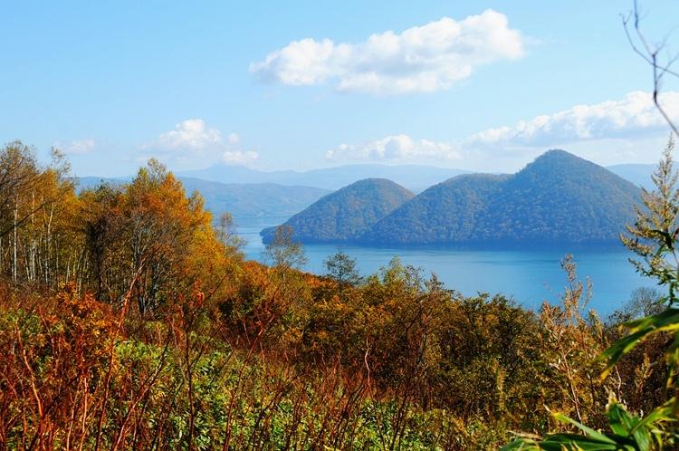 北海道:洞爷湖畔的美丽秋景 - 海军航空兵 - 海军航空兵