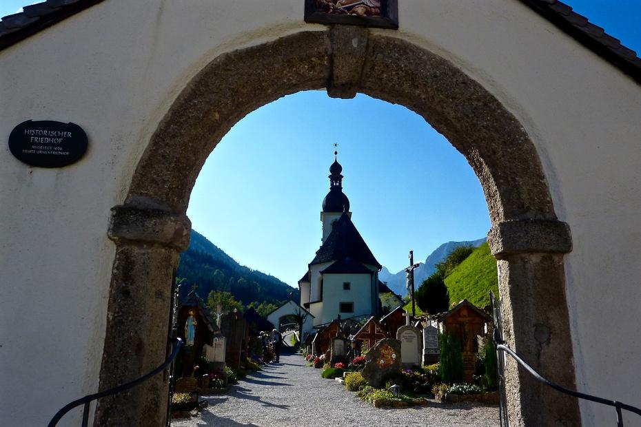 德国阿尔卑斯山 拉姆绍小教堂(Ramsau Kirche) - 海军航空兵 - 海军航空兵