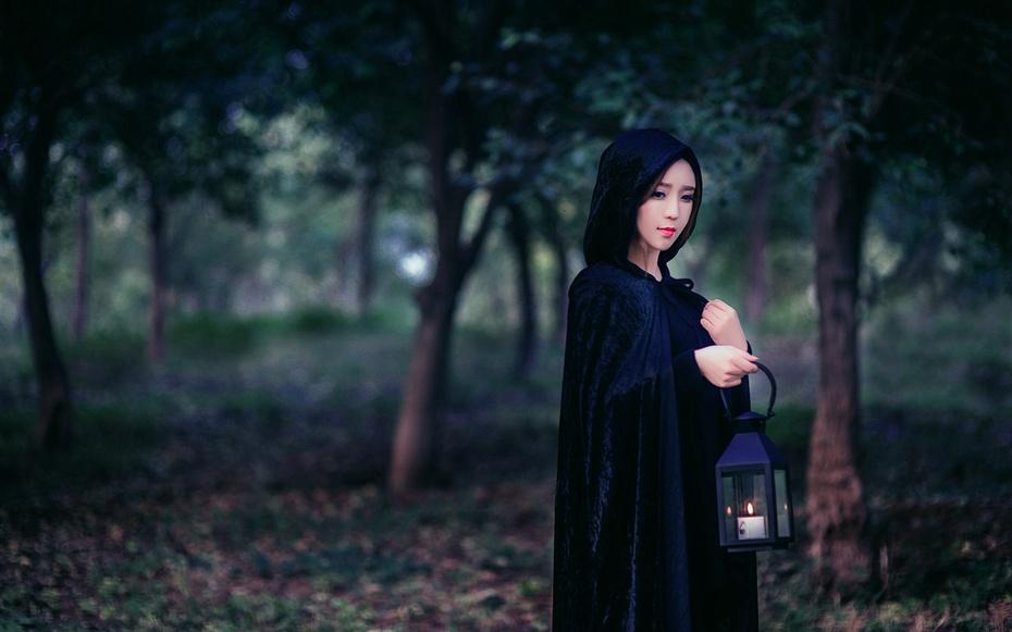 【袁一诺vivian】黑色女巫天使妆 - 小一 - 袁一诺vivian