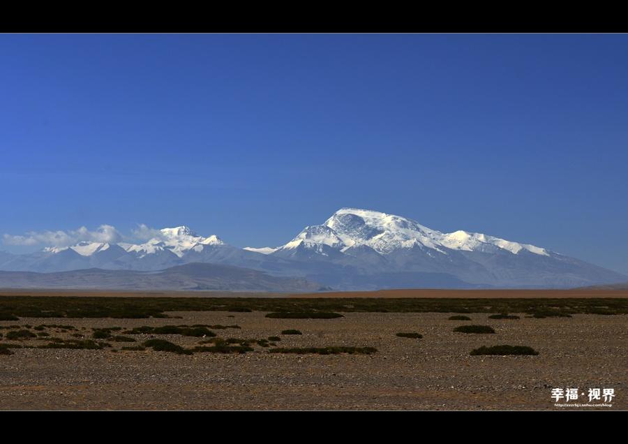 纳木那尼雪山 云端最美的山水画作 - H哥 - H哥的博客
