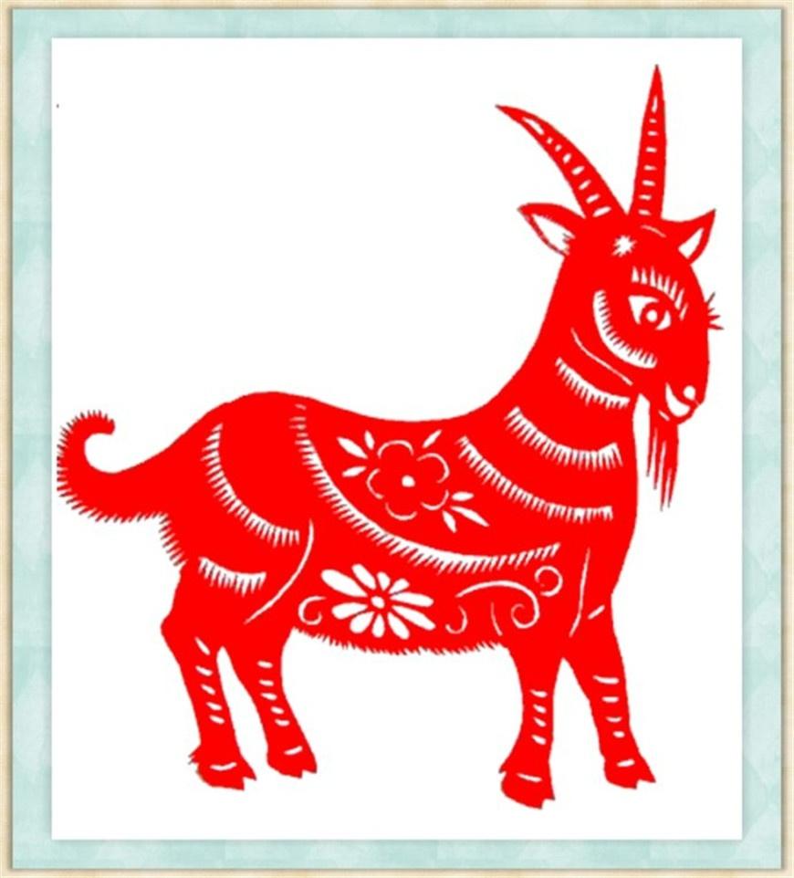 【剪纸艺术】羊年——吉祥